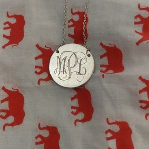 Stella and dot initial necklace (MLP)